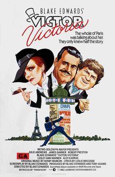Victor Victoria Julie Andrews, Robert Preston, and James Garnet (among others) (Dir. Blake Edwards) 1982