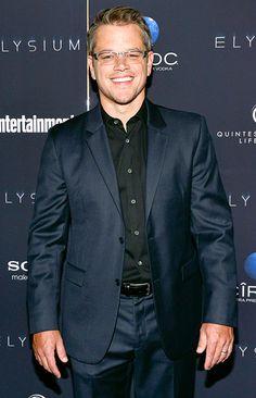 In my perfect world I'm married to Matt Damon! Lol