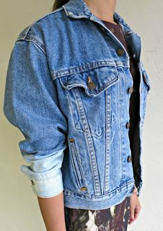 """The """"Dipped Sleeved"""" Levi's Jacket $115.00"""