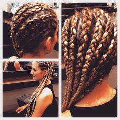 Just did another #rasta style     #cornows #rastastyle #hairstyle #hairdresser #blonde #longhair #extensions #berlin #udowalz #udowalzcreativteam #hairbyarmin #style #stylist #kudamm