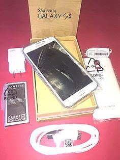 98536 cell-phones New Samsung Galaxy S5 SM-G900VZ White 16gb Verizon 4G LTE Factory Unlocked    BUY IT NOW ONLY  $274.88 New Samsung Galaxy S5 SM-G900VZ White 16gb Verizon 4G LTE Factory Unlocked  ...