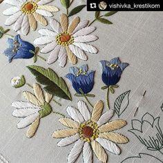 @vishivka_krestikom #ricamo #embroidery #bordado #broderie #handembroidery #needlework