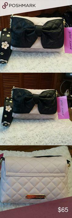 Betsy Johnson NWT Blush Shoulder Bag Betsy Johnson NWT Blush Shoulder Bag,, Snap closure, Zippered pocket inside, Strap Drop is 17, Betsy Johnson  Bags Crossbody Bags