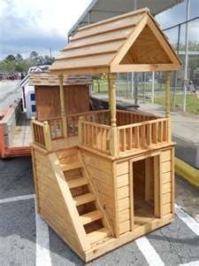 2 Story Dog House | two story more doghouse dogs stuff dogs house animal real favorite ...