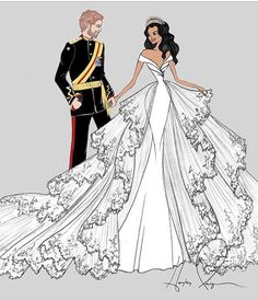Meghan and her Prince
