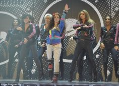 while i was looking for pictures of cher on xfactor, i found this, i just realized that's danielle peazer dancing beside her!