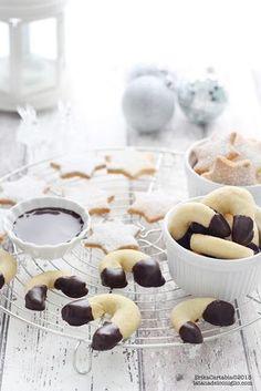 La tana del coniglio: Teneri biscotti alla vaniglia o Vanillekipferl in 2 varianti