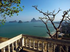 Prachuap Khiri Khan, Thailand - about an hour by road south of Hua Hin - beautiful and unspoilt