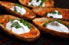 25 Vegan Recipes For Super Bowl Sunday: Potato Skins