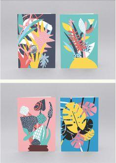 Screen prints, pattern work, and graphic design by France-based Atelier Bingo (Maxime Prou & Adèle Favreau). http://blog.littlepaperplanes.com/atelier-bingo/