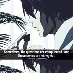 Anime Quote: Death Note