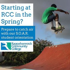 Starting at RCC in the Spring? Prepare to catch air with our S.O.A.R. student orientation http://ift.tt/2eBC6qw #rccspring #rappahannock #community #college #comm_college #middlepeninsula #midpenva #nnk #northernneck