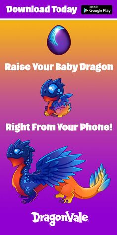 Do You Love Dragons As Much As We Do?! Download and Play Dragonvale Today!