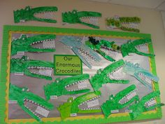 This class of Year 1 students designed Enormous Crocodile projects and wrote…
