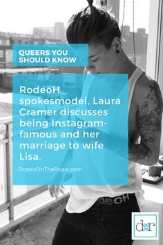 Dutch Instagram Celebrity, Laura Cramer chats about her work with RodeoH harnesses, life on the internet and her marriage to wife Lisa Cramer.