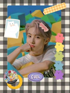 Grid Wallpaper, Wallpaper Stickers, Emoji Stickers Iphone, Polaroid Decoration, Polaroid Frame, Nct Doyoung, Polaroid Pictures, K Idol, Indie Kids
