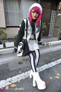 RISA (LISA13) Harajuku, Tokyo Gothic AUTUMN 2013, GIRLS Kjeld Duits