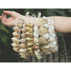 "726 Me gusta, 39 comentarios - Chelsea's crowns and creations (@chelseasflowercrowns) en Instagram: ""Simple shell crown styles for all ages #mermaid #flowercrowns #shells #seashells #festivalwear…"""