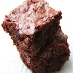 Easy Eggless Brownies using Brownie Mix and Flaxseed Meal