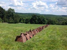 Bedford Hills, Richard Long, Land Art, Line, Sculptures, Artist, Fishing Line, Sculpture