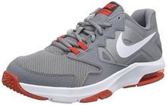 release date 71770 450ec Nike Men s Air Max Crusher 2 Cool Grey White Challenge Red Ankle-High  Walking Shoe - 8.5M