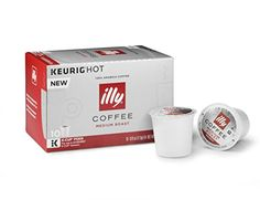 illy K-Cup Pods, Medium Roast, 10 Count * Visit the image link for more details.