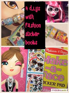 4 easy crafts for when you're finished with those sticker books #melissa and doug