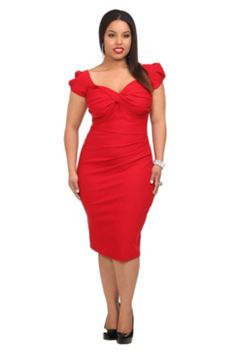 Stop Staring! - Red Billion Dollar Baby Dress For grown folks only!