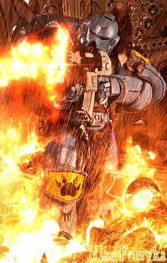 His Warriors, His space marines Warhammer 40k Space Wolves, Warhammer 40k Art, Warhammer Fantasy, Game Workshop, Marvel, Dc Comics, Space Marine, Cosplay, Game Art