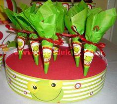 sapo pepe Watermelon, Fruit, Birthday, Food, Kuchen, 1st Birthdays, Birthdays, Essen, Meals