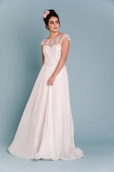 ALBERTINE wedding dress by Sally Eagle Bridal
