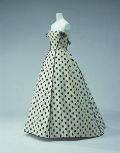 Collections 1950s  Evening Dress  Designer: Jacques Fath