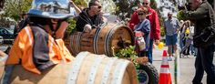 Got a Wine Barrel in your backyard? Join the Festival for the Wine Barrel Races, prior to  the Temecula Valley Balloon and Wine Festival. Photo by Chip Morton Photography