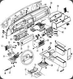 Mazda B2200, B2000, B2600 Dash Removal  B2200 | Mazda Truckb2200 | Mazda, Trucks, Vehicles