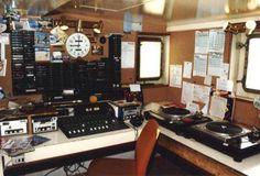 30 - The old production studio, now converted into the Radio Monique studio Recording Booth, Recording Studio, Boogie Woogie, Ham Radio, Production Studio, Radio Stations, Van, North Sea, Radios