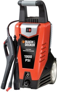 Visit The Home Depot to buy Black & Decker 1900 psi Electric Pressure Washer Car Cleaning, Spring Cleaning, Best Pressure Washer, Pressure Washers, Outdoor Toys, Water Supply, Outdoor Power Equipment, Deck, Electric