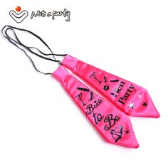 2pcs Funny tie Bachelorette groom party supplies hens night mariage wedding event Hen party bride to be accessories #Affiliate