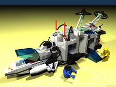 LEGO Sonar Transmitting Cruiser - Most probably my favourite toy as a kid #toys