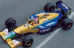 Nelson Piquet - Benetton B191 (1991), Camel