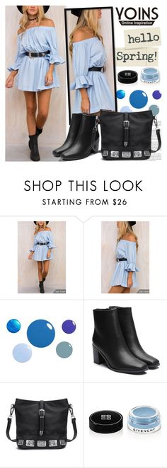 """YOINS"" by gaby-mil ❤ liked on Polyvore featuring Givenchy, yoins, yoinscollection and loveyoins"