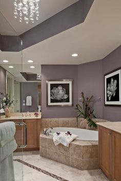 Esperia at Bonita Bay Residence - contemporary - bathroom - miami - Barbara Rooch Interior Environments, Inc.