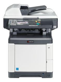 Kyocera ECOSYS M6026cidn 28 color per miunte MFP.
