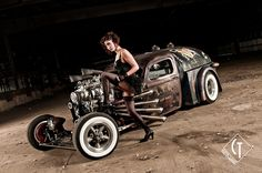 My attempt at a Tim Burton style rat rod shoot.  www.ratrodphotography.com