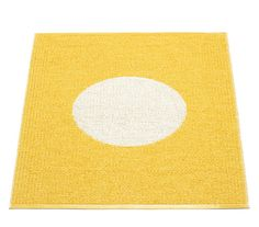 Pappelina Yellow Vera Small One Rug - bathmat/ nappy changing mat for floor in Cari's bathroom Cute Kitchen, Kitchen Rug, Interiors Online, Changing Mat, Small One, Baby Steps, Rugs On Carpet, Carpets, Projects For Kids
