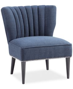 Kenzie Fabric Accent Chair, Direct Ship - Chairs & Recliners - Furniture - Macy's