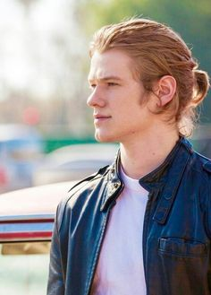 Lucas Till looking gorgeous as usual