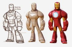 making of disney infinity character design - Google Search