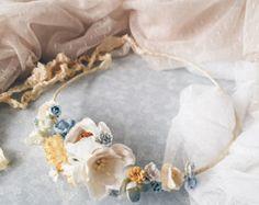 Flower CrownFlower WreathHair AccessoriesBridal by SajmonArt
