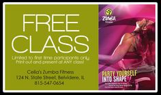 zumba coupon cards - Google Search