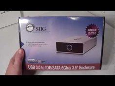 """Product Showcase SiiG USB 3.0 to IDE/SATA 6Gb/s 3.5"""" Enclosure JU-SA0F12-S1 - http://cpudomain.com/computer-accessories/product-showcase-siig-usb-3-0-to-idesata-6gbs-3-5-enclosure-ju-sa0f12-s1/"""